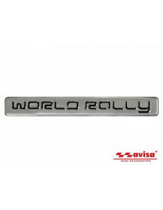 Aluminiowy Emblemat - World Rally