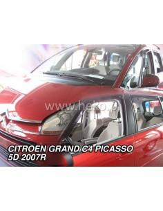 Owiewki Citroen C4 Grand Picasso 07-13R. (Kpl. Z Tyłami)