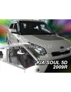 Owiewki Kia Soul 5D. 2009-2014R. Przody