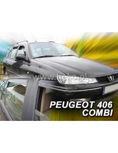 Owiewki Peugeot 207 5D. Od 2006R. Przody