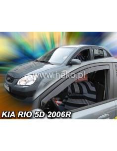 Owiewki Kia Rio 5D 2005-2011R. Przody