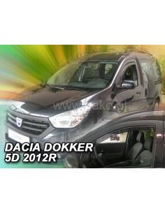 Owiewki Dacia Dokker 4D. Od 2012R. Przody
