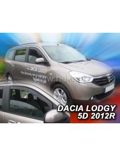 Owiewki Dacia Lodgy 5D. Od 2012R. Przody