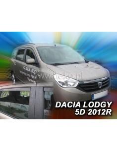 Owiewki Dacia Lodgy 5D. Od 2012R. (Kpl. Z Tyłami)