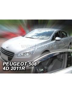 Owiewki Peugeot 307 5D. Od 2001R. Przody
