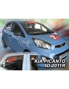 Owiewki Kia Picanto 5D 2004-2011R. (Kpl. Z Tyłami)