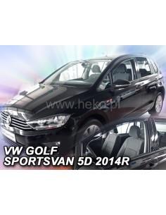 Owiewki Vw Golf Sportsvan 5D. Od 2014R. Przody