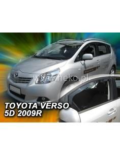 Owiewki Toyota Verso Od 2009R. Przody