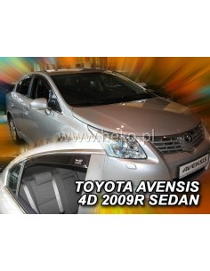 Owiewki Toyota Avensis Iii 4D. Od 2009R. (Kpl. Z Tyłami) Sedan