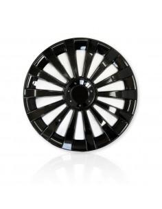 "Kołpaki 13"" Meridian Black (4 Szt.) Alfa Romeo"