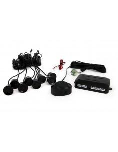 Zestaw Czujników Przód I Tył Buzzer 8 Sensorów Czarne
