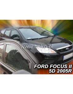 Owiewki Ford Fusion 5D. Od 2002R. Przody