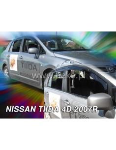 Owiewki Nissan Tida 4D Od 2007R. Sedan Przody