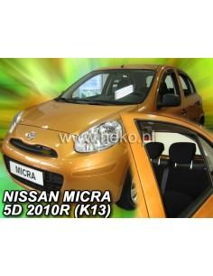 Owiewki Nissan Micra K13 5D. Od 2010R. (Kpl. Z Tyłami)