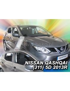 Owiewki Nissan Qashqai J11 Od 2013R. (Kpl. Z Tyłami)