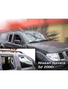 Owiewki Nissan Navara Pick Up D40 4D. 05-14R. (Kpl. Z Tyłami)