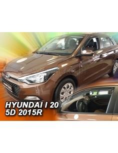 Owiewki Hyundai I20 Ii 5D. Od 2015R. Przody