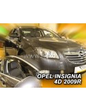 Owiewki Opel Insignia 4/5D. 09-17R. Przody
