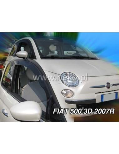 Owiewki Fiat 500 3D. Od 2007R. Przody