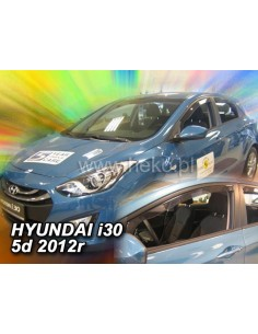 Owiewki Hyundai I30 5D. 2012-2017R. (Kpl. Z Tyłami)