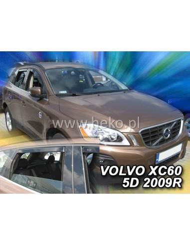 Owiewki Volvo Xc 60 5D. 2008-2017R. Kpl. Z Tyłami