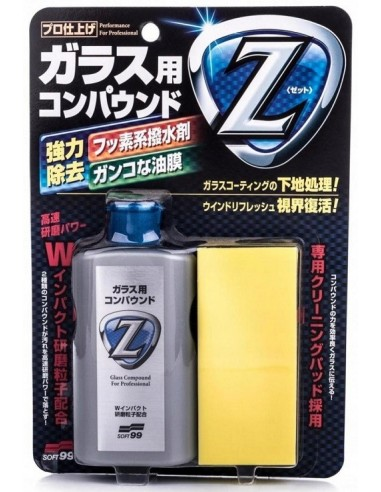 Soft99 Glass Compound Z Cleaner Do Szyb