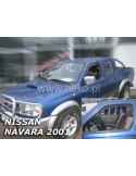 Owiewki Nissan Almera N-16 5D 2000-2006R. Przody