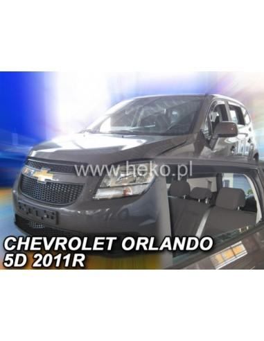 Owiewki Chevrolet Orlando 5D. Od 2011R. (Kpl. Z Tyłami)