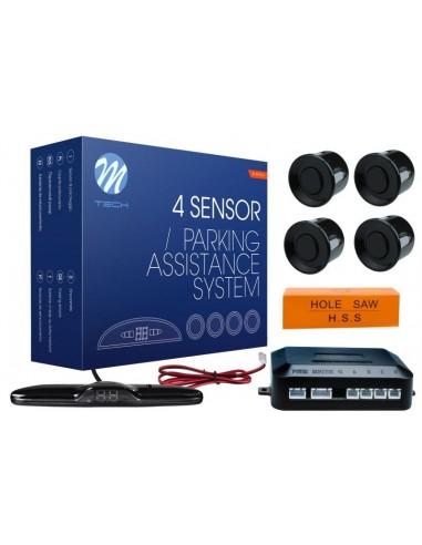 Czujniki Parkowania- 4 Sensory Batman Czarne