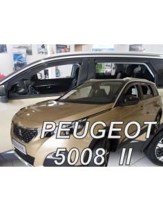 Owiewki Peugeot 5008 Ii 5D. Od 2017R. (Kpl. Z Tyłami)