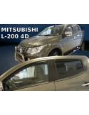 Owiewki Mitsubishi L-200 V 4D. Double Cab Od 2015R. (Kpl. Z Tyłami)