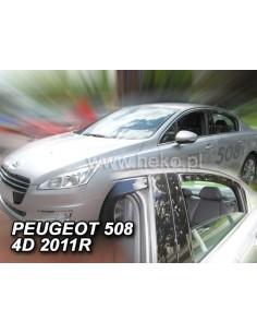 Owiewki Peugeot 508 Sedan 2011-2018R. (Kpl. Z Tyłami)