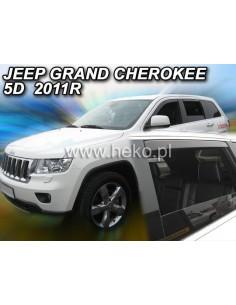 Owiewki Jeep Grand Cherokee Wk 5D. 2004-2010R. Kpl. Z Tyłami