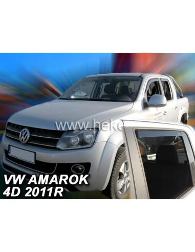 Owiewki Volkswagen Amarok 4D. Od 2009R. (Kpl. Z Tyłami)
