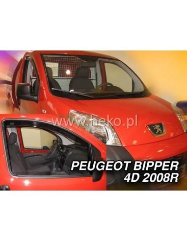 Owiewki Peugeot Bipper 4D. Od 2008R. Przody