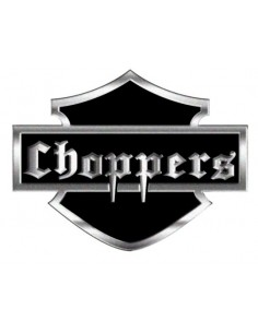 Aluminiowy Emblemat - Choppers