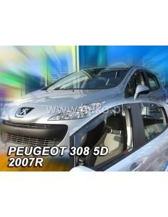 Owiewki Peugeot 308 I 5D. 2007-2013R. Przody