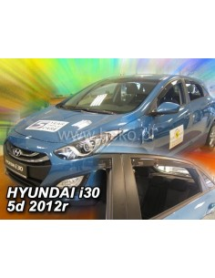 Owiewki Hyundai I30 5D Od 2012R. (+Ot) Htb